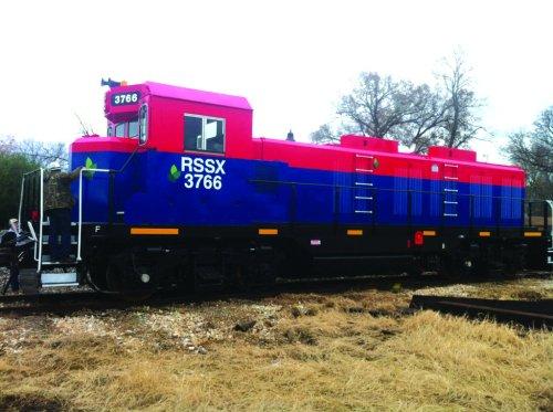 Bannerstand locomotive photo 7-14