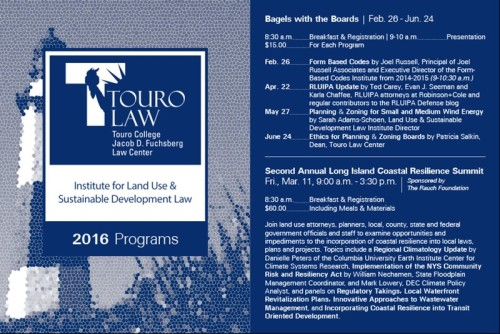 Touro 2016 events