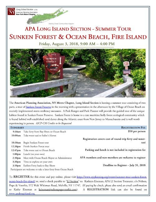 2018 Fire Island Tour Flyer FINAL2