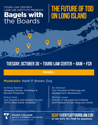 Touro Bagels Event 10.30.18