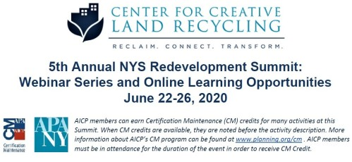 CCLR NYS Redevelopment Summit - June 2020